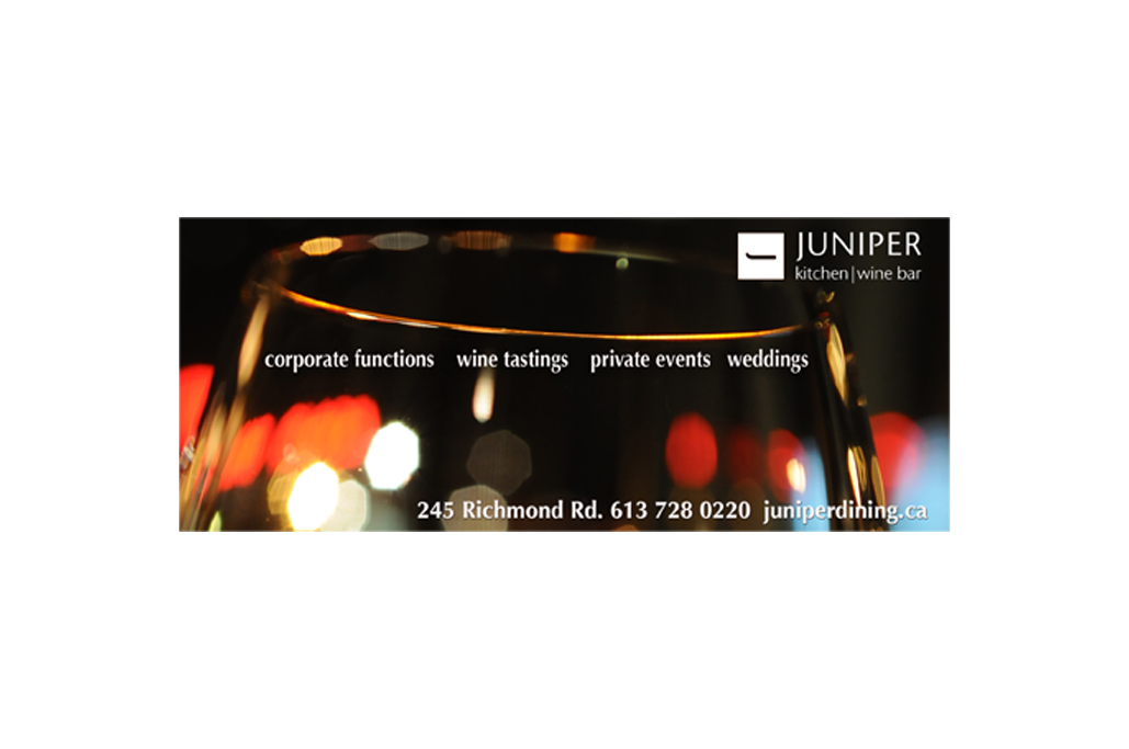 For Juniper Kitchen & Wine Bar