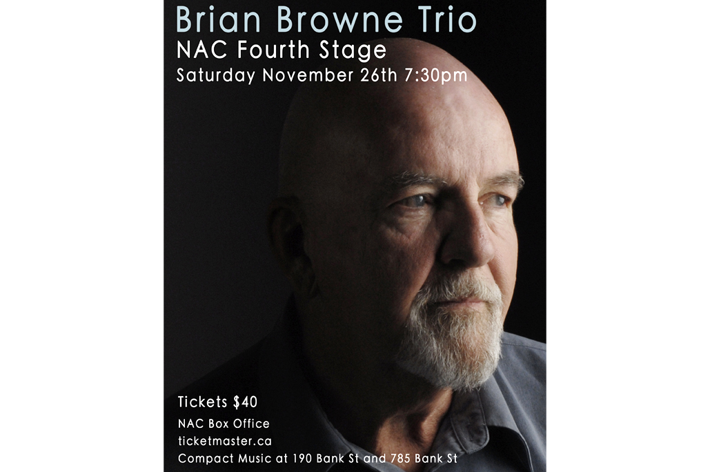 For the Brian Browne Trio