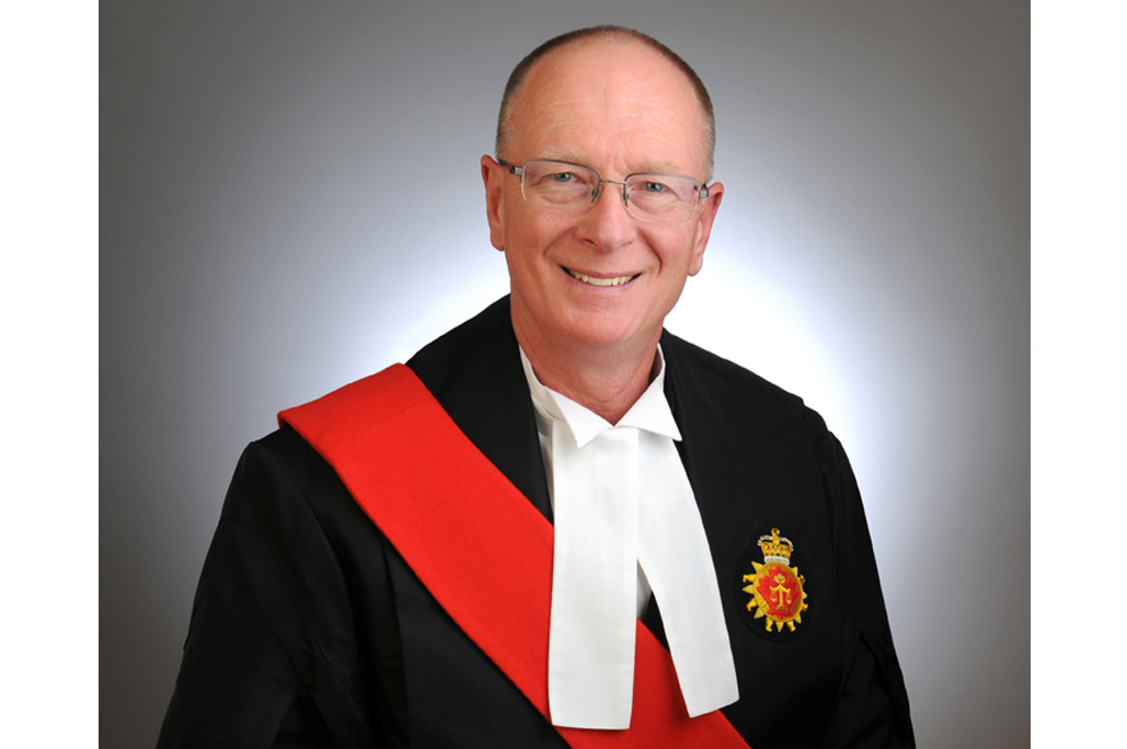 The Honourable Calum MacLeod of the Superior Court of Justice of Ontario
